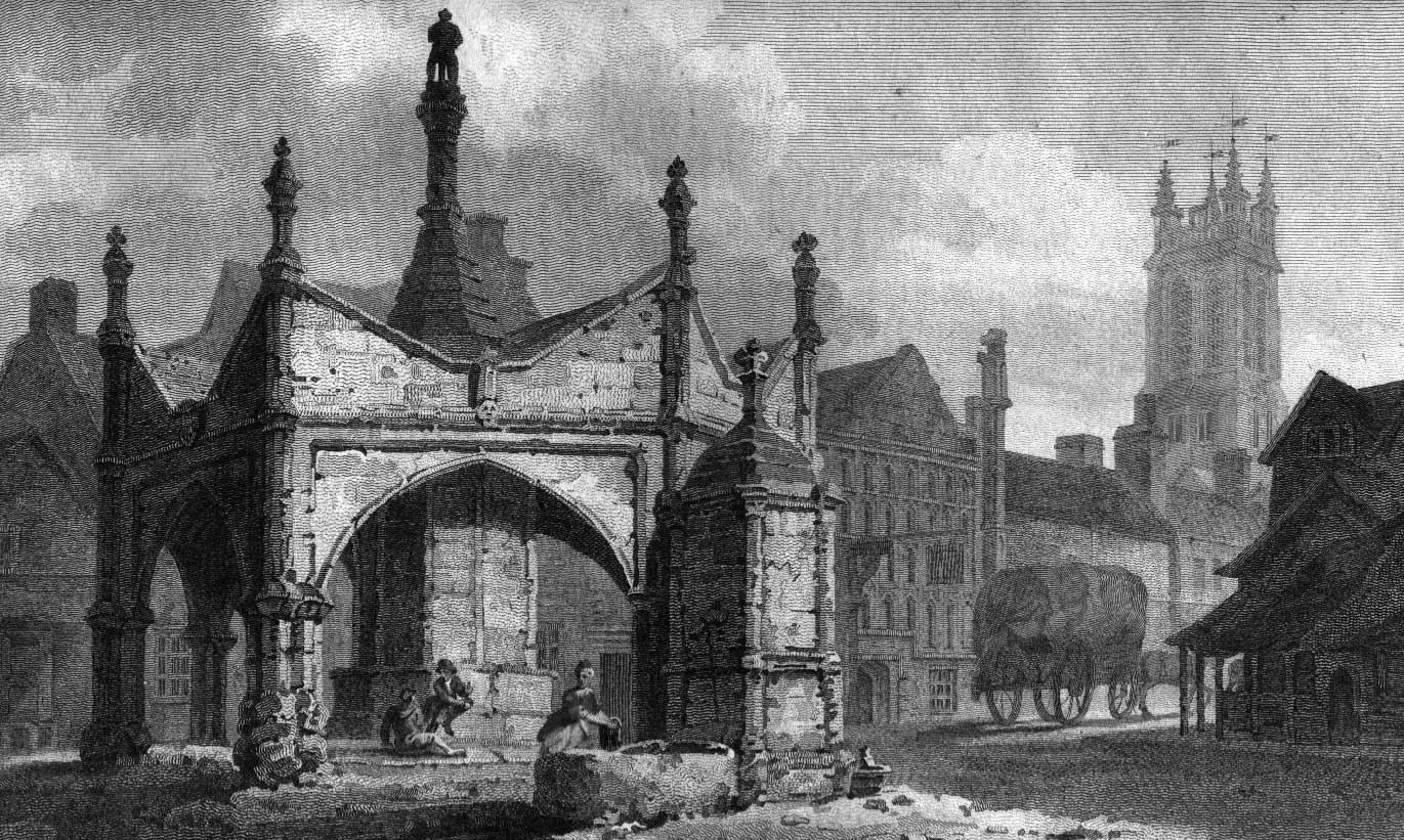 Glastonbury Market Cross c. 1800